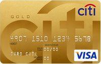 シティカードゴールド券面画像